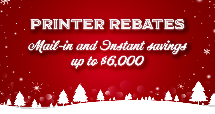 Don't Miss the Final Printer Savings for 2019