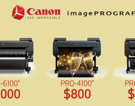 Canon Announces New Mail-in Rebates on PRO-Series Printers