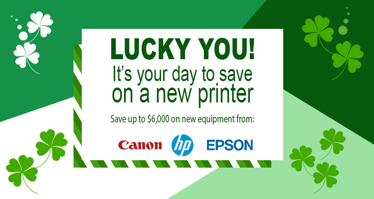 Save Some Green with These New Printer Savings