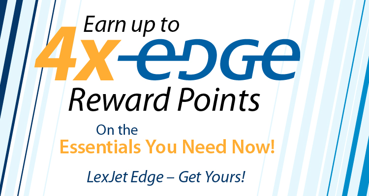Earn 2X! 3X! 4X! Edge Points on Essential Materials You Need Now