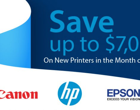 Upgrading a Printer in May? Don't Miss these Savings