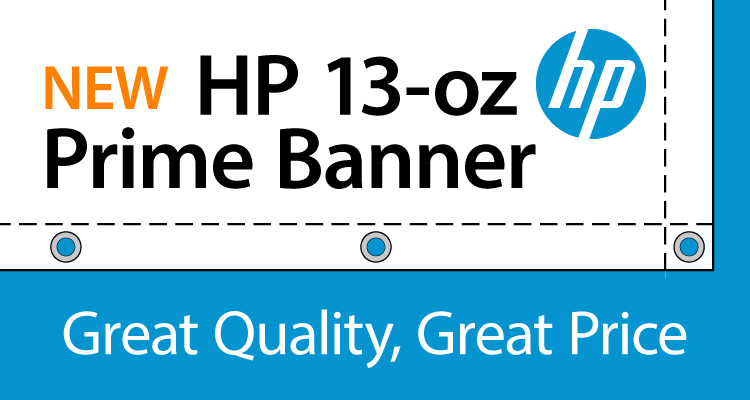 Now Available: HP 13-oz Prime Gloss and Matte Banner