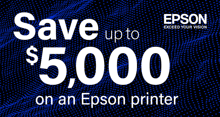 From Outdoor Signage to Home Décor, Epson's Got You Covered