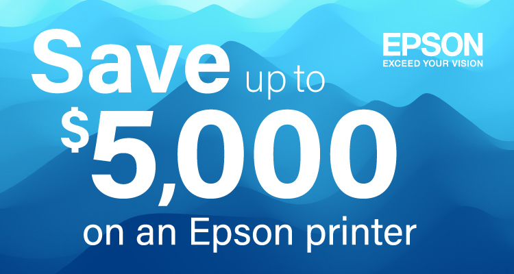 Prepare for the Holiday Rush with these Epson Savings