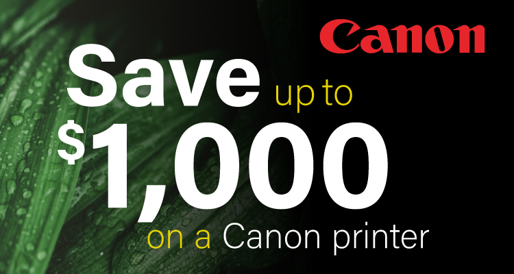 This November, Wrap up the Savings with a New Canon Printer