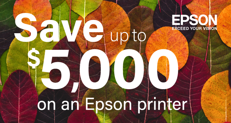 Gobble up These November Savings from Epson