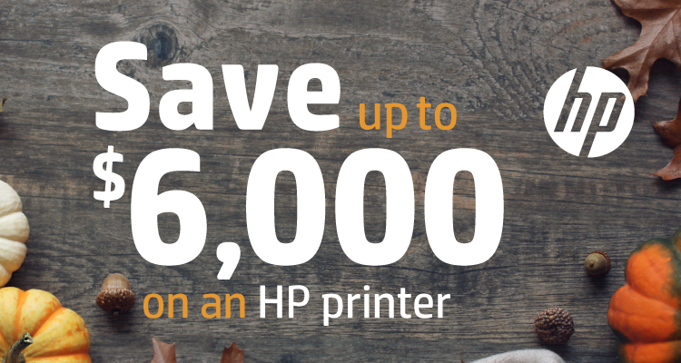 Give Thanks for These Savings When You Get a New HP Printer in November