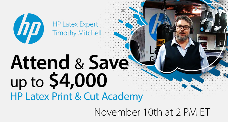 HP Latex Print & Cut Tips with Timothy Mitchell