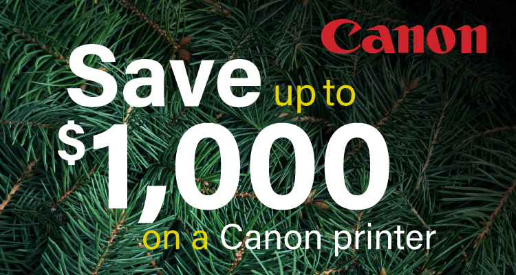 Don't Let the Clock Strike Midnight on These Canon Printer Savings