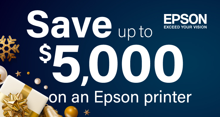 Start Your New Year Right with a New Printer from Epson