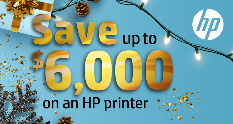 Ring in the New Year with these December Printer Savings from HP