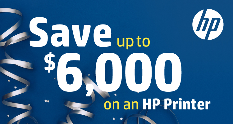 HP Welcomes the New Year with these Instant and Mail-in Savings