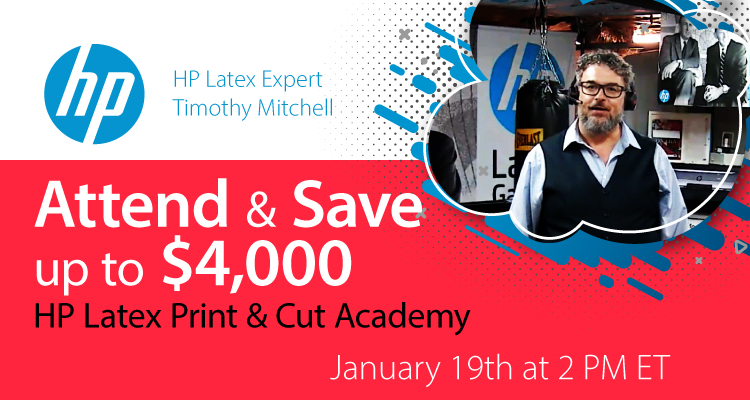 Learn about Latex from Timothy Mitchell, HP Latex Applications Architect