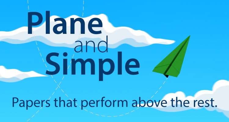 """It's """"Plane"""" and Simple: Paper is Versatile"""