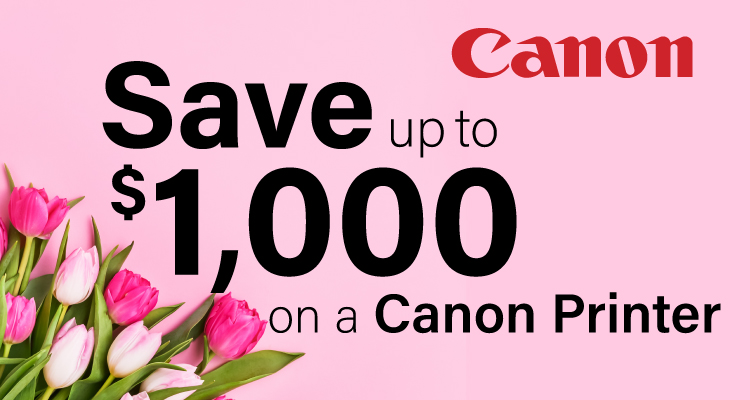 This February, Fall in Love with a New Canon Printer