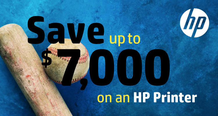 Hit a Home Run with these March Savings from HP
