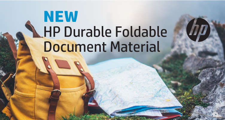 HP Durable Foldable Document Material Now Available from LexJet